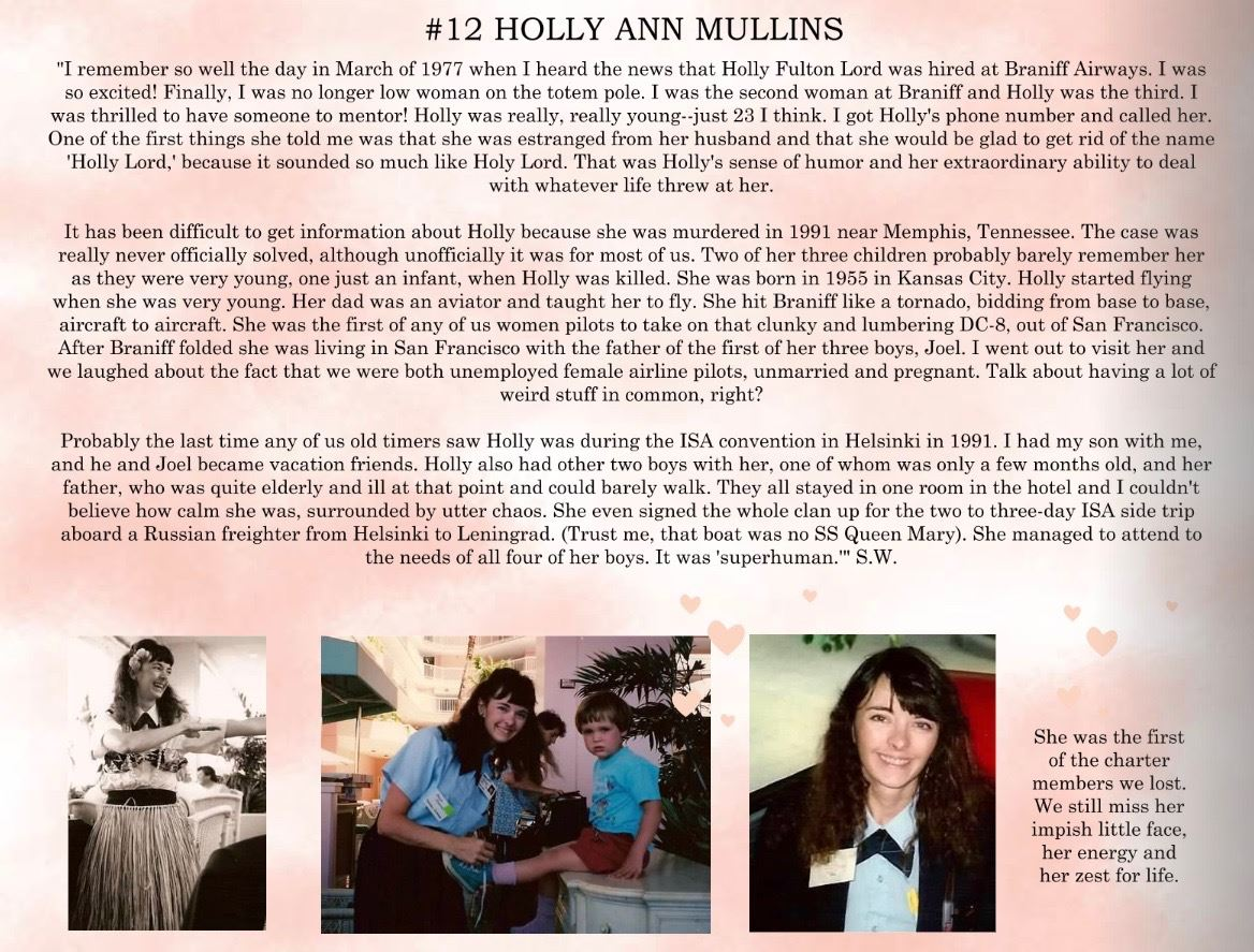 12. Holly Mullins