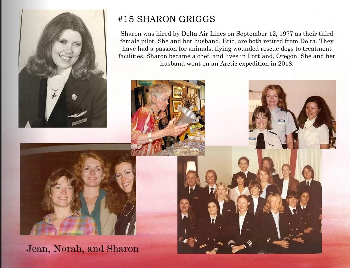 15. Sharon Griggs