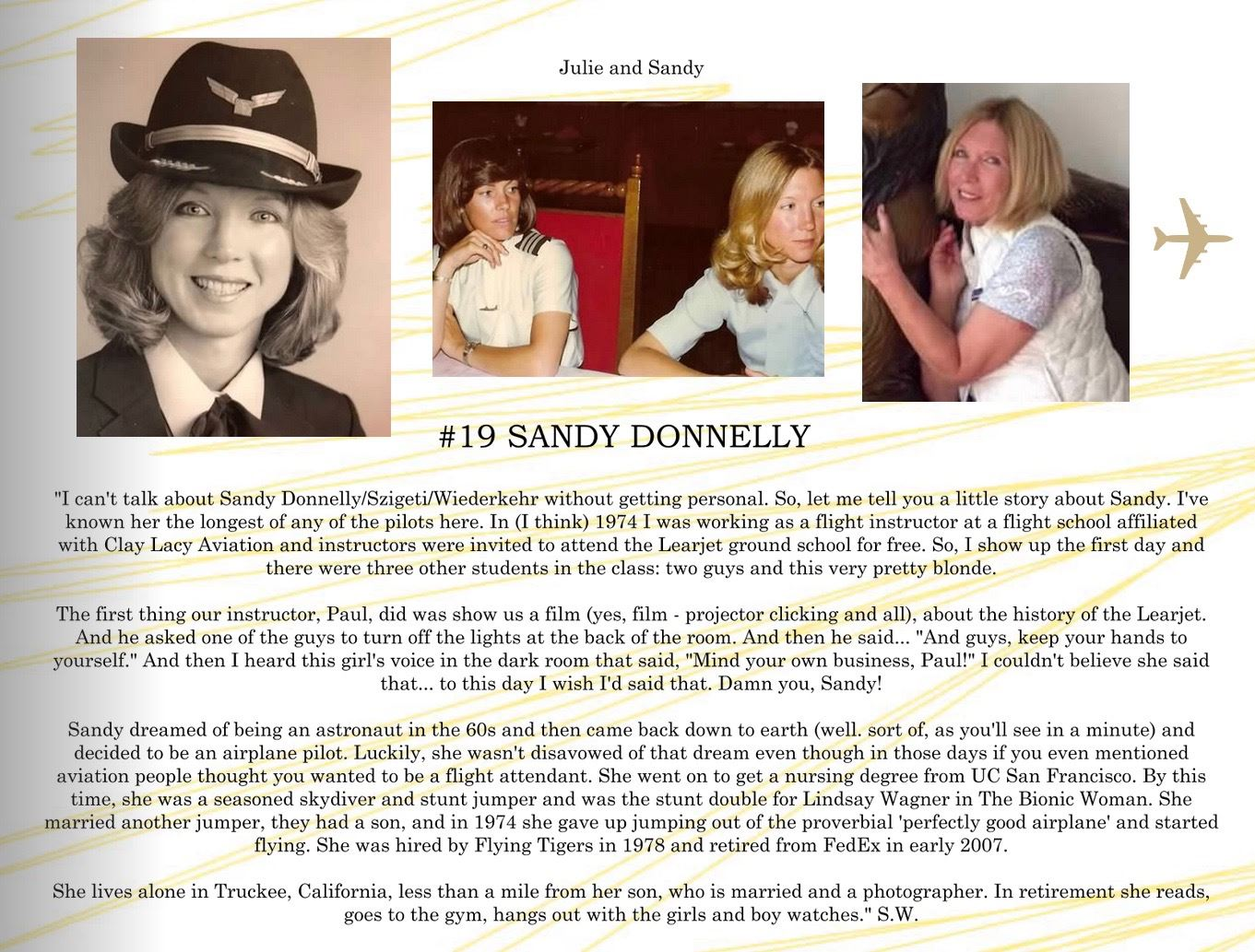 19. Sandy Donnelly