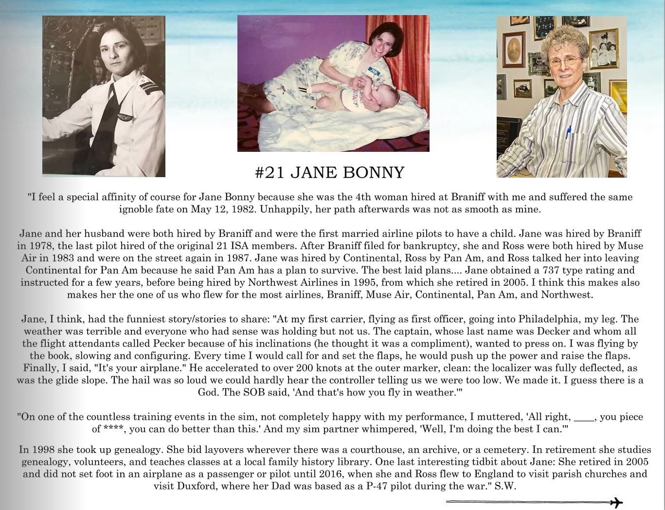 21. Jane Bonny