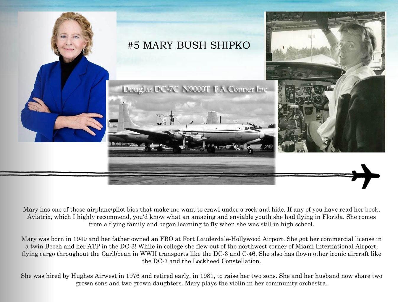 5. Mary Bush Shipko