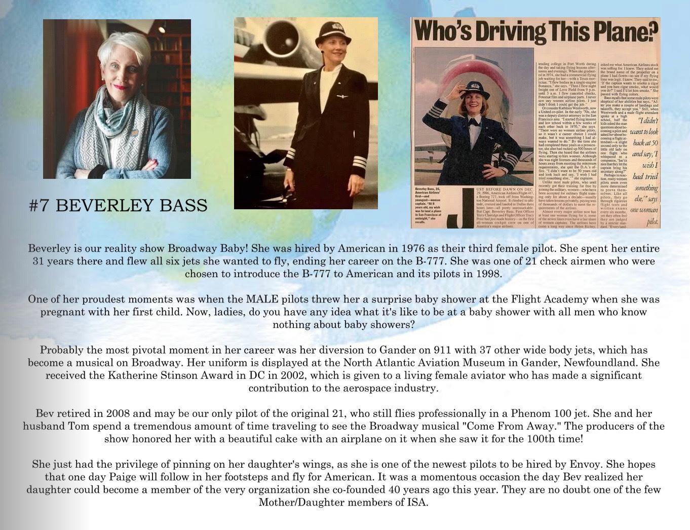 7. Beverley Bass