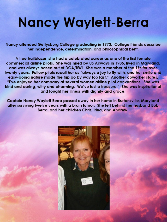 Nancy Waylett-Berra Memorial