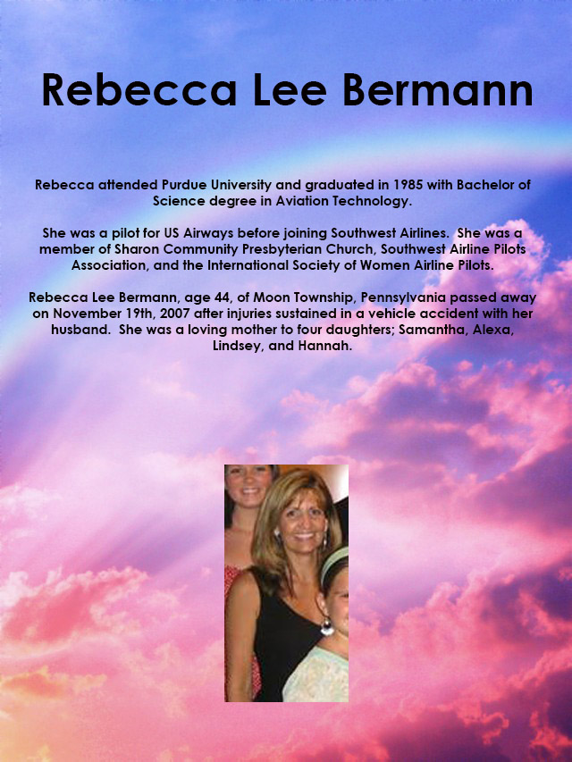 Rebecca Lee Bermann Memorial
