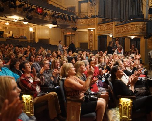 Clapping at talkback NY