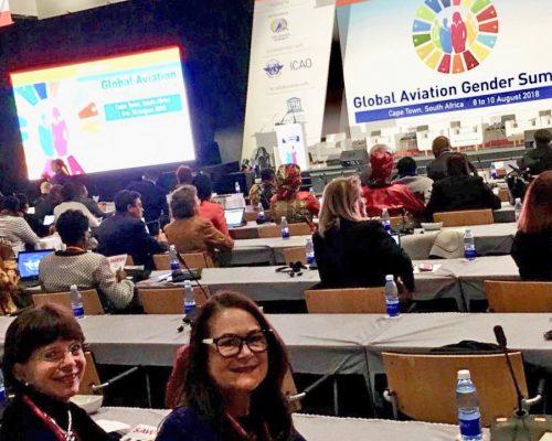 Davida and Carole Africa Gender conference